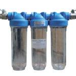 Filtration 3 niveaux 10 pouces