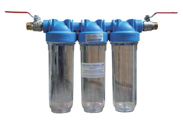 Filtration 3 niveaux 10''