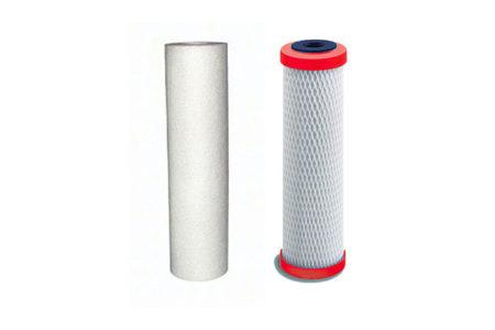 Jeu de 2 filtres de remplacement pour Filtration + Vitzlisation sous évier