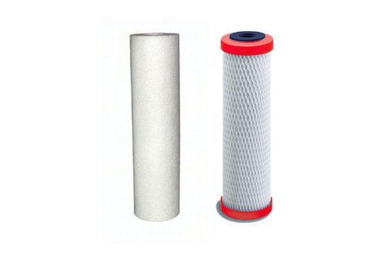 Jeu de 2 filtres de remplacement <br/> pour Filtration Sous Évier