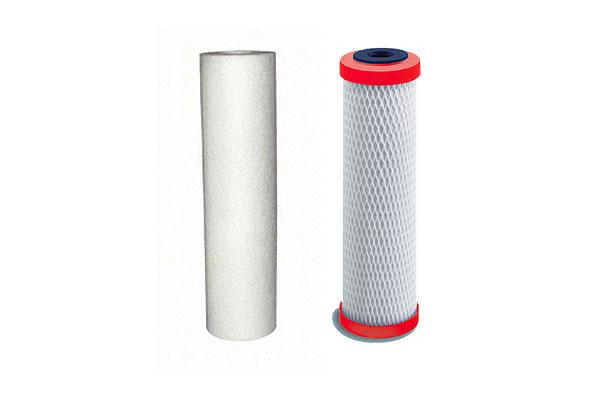 Jeu de 2 filtres de remplacement pour Filtration Sous Évier réf. FSE