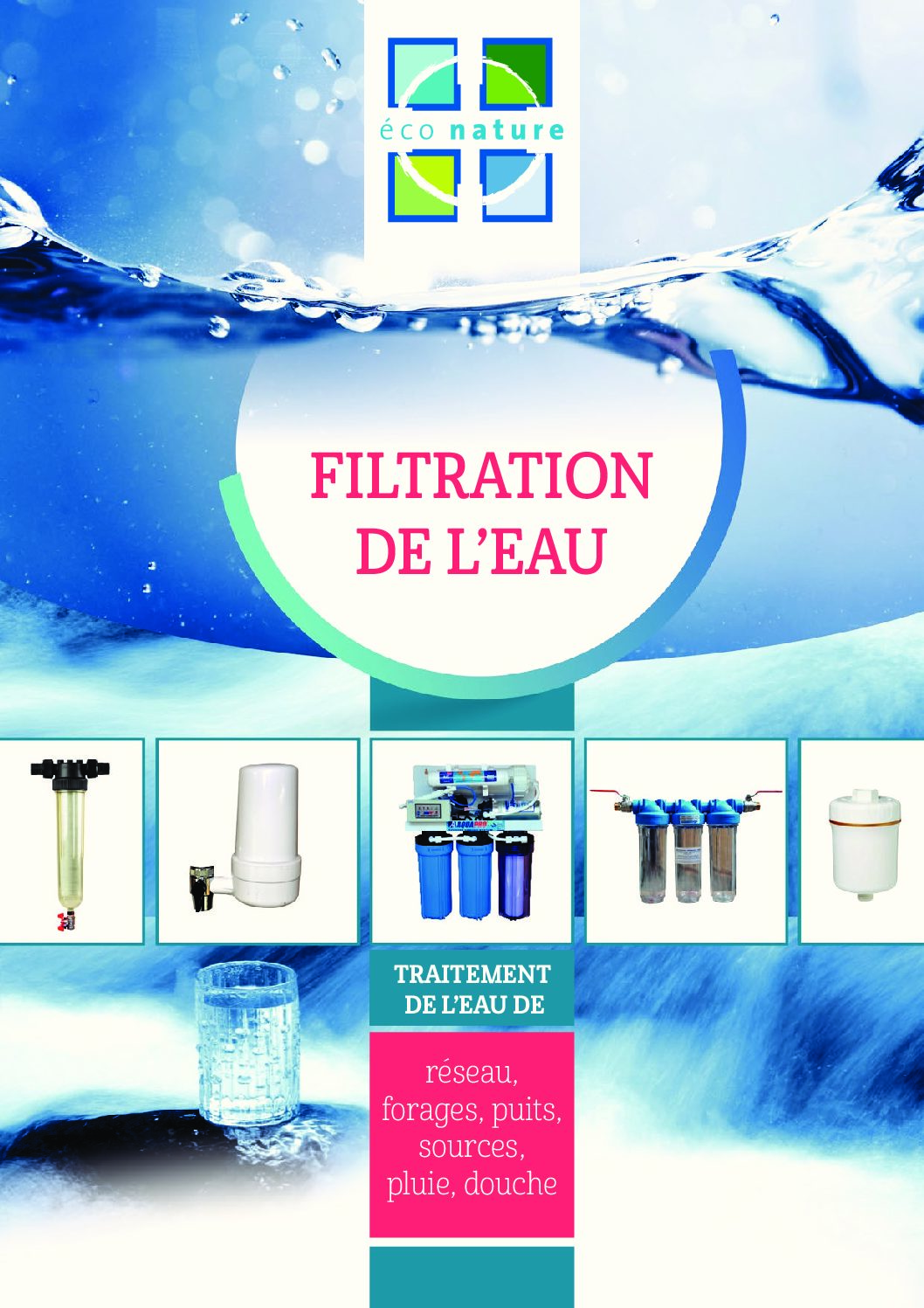 Catalogue Filtration Éconature 2017