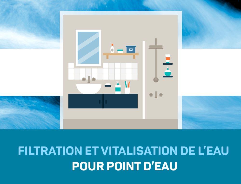 Filtration et Vitalisation de l'eau pour un point d'eau